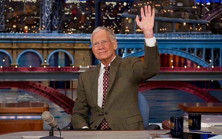 David Letterman goodbye