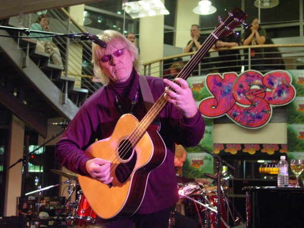 Chris Squire in 2004. Photo credit: Rob Archer