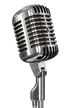 Old radio mic