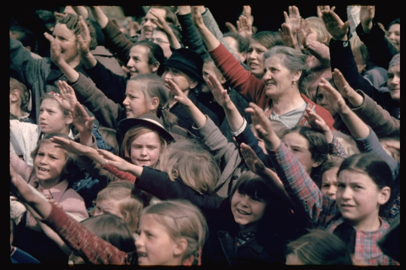 Germans happy to accept Nazi rule